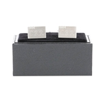 Engraved 3 Crystal Rectangle Cufflinks
