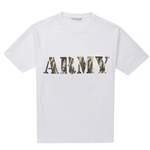 Personalised Mens T-Shirt Camouflage Print Top