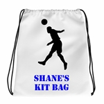 Personalised Footballer Gym/PE Kit/Sports Bag