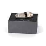 Personalised Engraved Rose Gold Plated Whistle & Gift Box