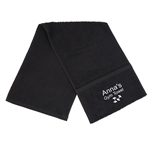 Embroidered Zipped Pocket Gym Towel