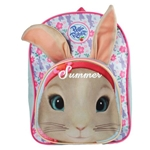 Personalised Lily Bobtail Plush Backpack