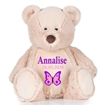 Personalised Embroidered Cuddly Teddy Bear