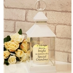 Thoughts Of You Graveside Memorial Lantern - Grandma