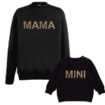 Leopard Print Mama and Mini Jumpers