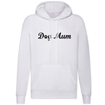 Dog Mum Paw Print Hoodies