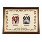 Double Coat of Arms Frame