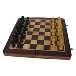 Engraved Folding Chess Board Set