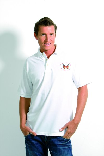 Personalised Photo Mens Polo Shirt