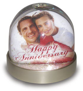 Personalised Celebration Snow Globe/Dome