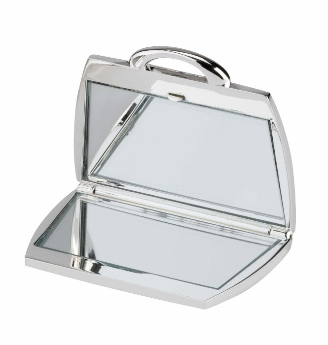 Engraved Handbag Shaped Mirror