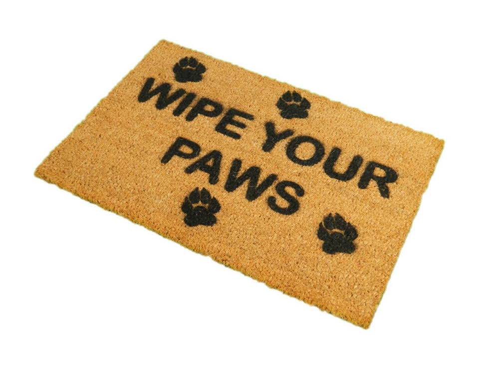 Wipe Your Paws Doormat A1 Personalised Gifts