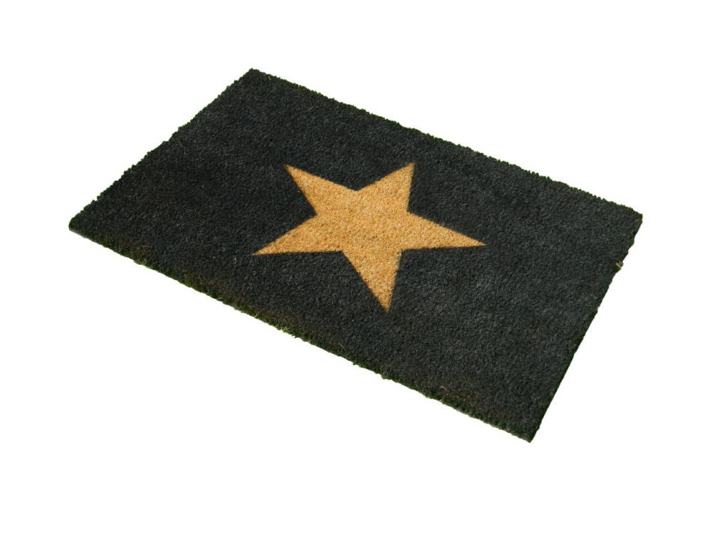 Star Doormat A1 Personalised Gifts