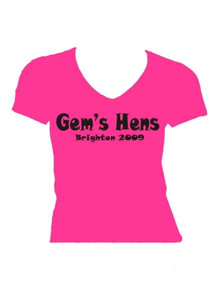 Hen Party/Weekend Hens T-shirts