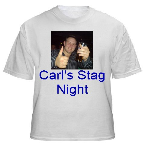 Personalised Stag Party/Weekend T-shirts
