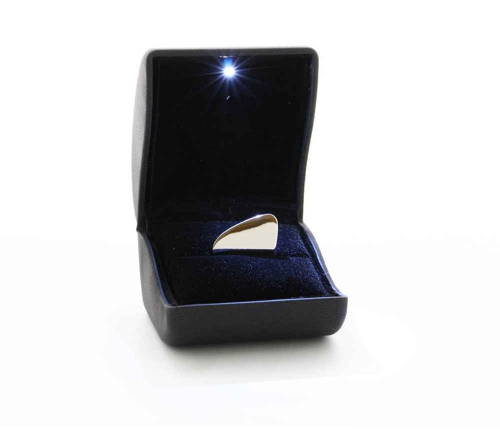 Engraved Silver Plated Guitar Plectrum Pick with Presentation Box