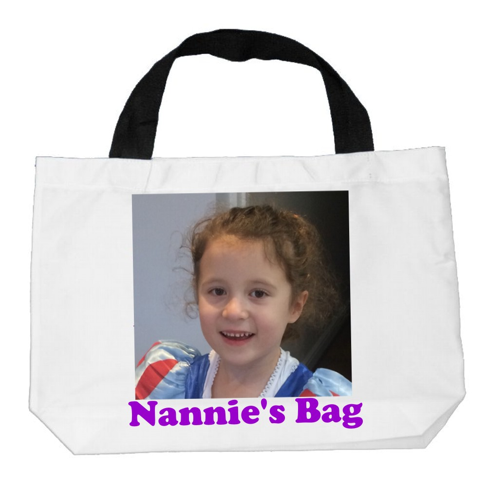 Personalised Canvas/Shopper/Beach Bag - Large