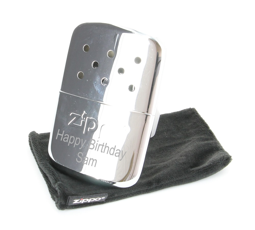 Personalised Engraved Zippo Hand Warmer