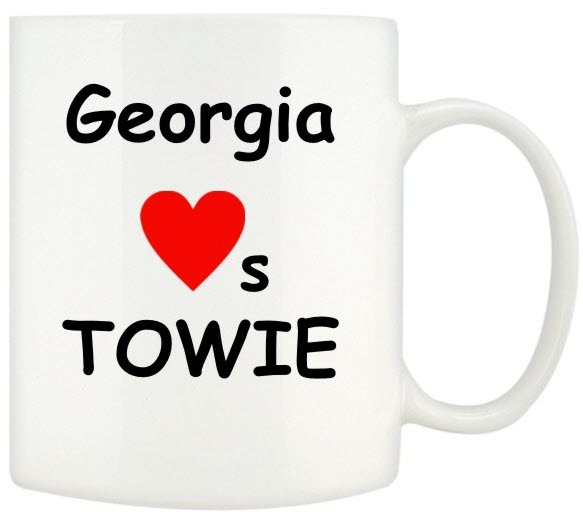 I Love TOWIE Mugs Personalised