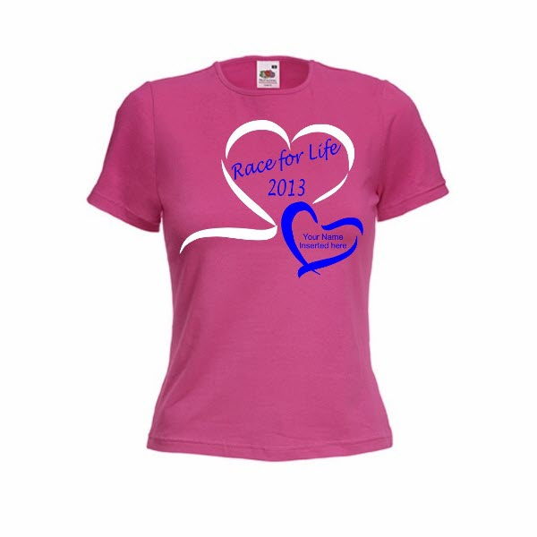 Race For Life 2013 Round Neck T-shirts