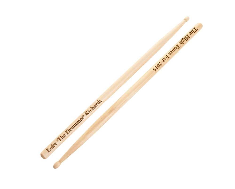 Engraved Personalised Drumsticks