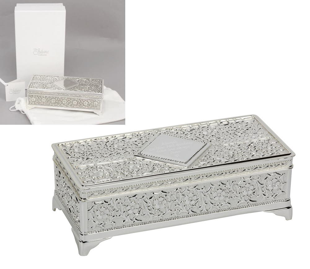 Engraved Large Kensington Jewellery Box