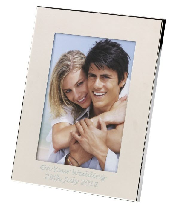 Engraved Photo Frame 3 sizes