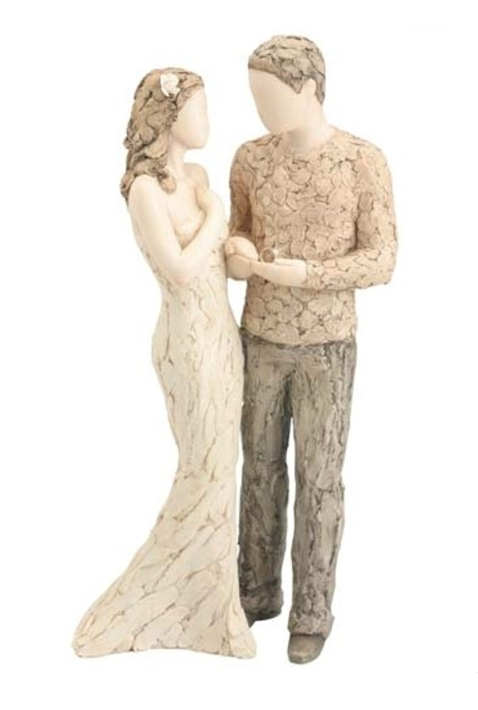 With This Ring More Than Words Figurine