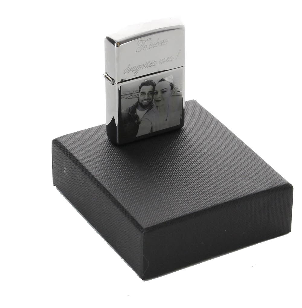Personalised Photo Engraved Zippo Lighter