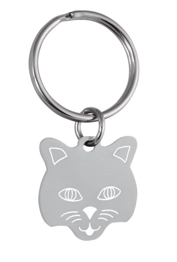 Engraved Cat Pet Tag