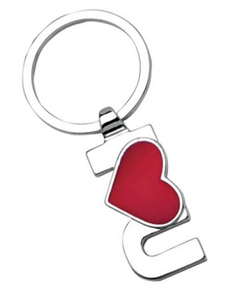 Engraved I Love You Keyring