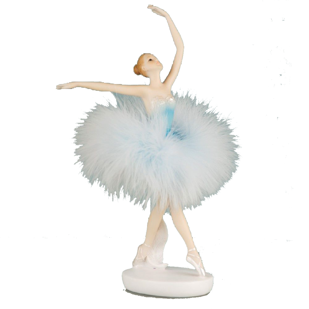 Personalised Resin Ballerina Dancer Figurine