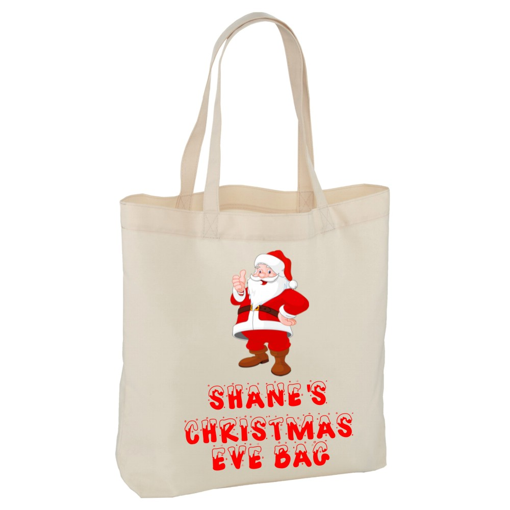 Personalised Christmas Eve Bags