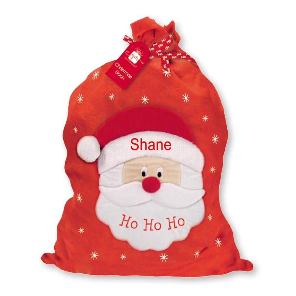 Personalised Deluxe Santa Sack
