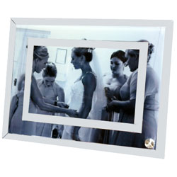 Personalised Printed Glass Mirrored Photo Frame