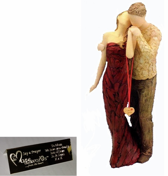 I Love You More Than Words Figurine