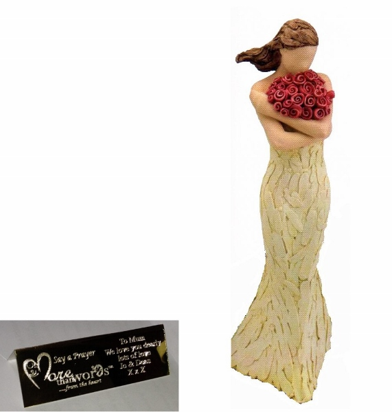 Best Mum More Than Words Figurine