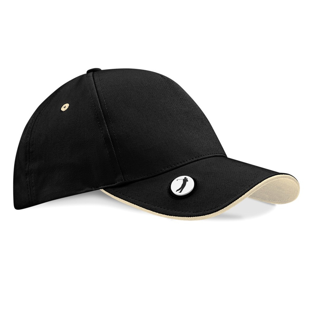 Embroidered Ball Marker Golf Cap