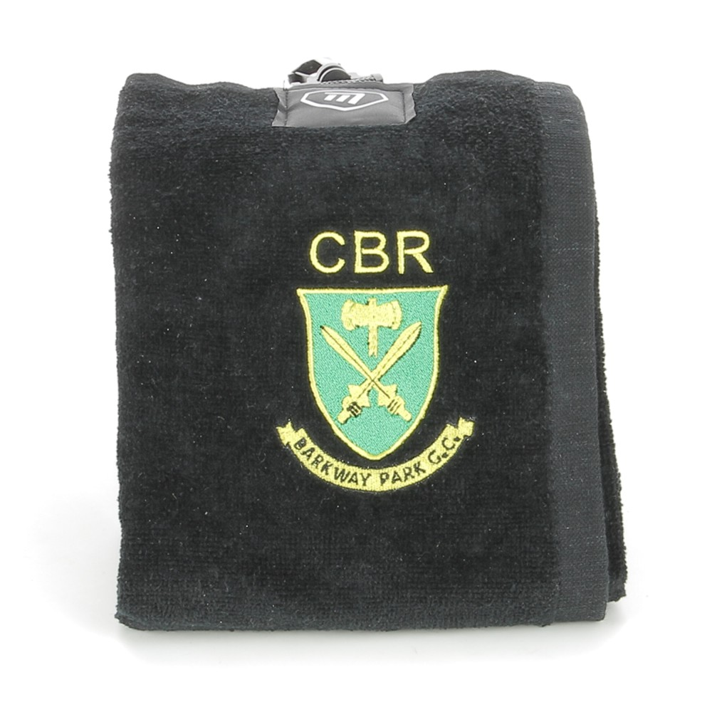Embroidered Masters Tri-Fold Golf Trolley Towel