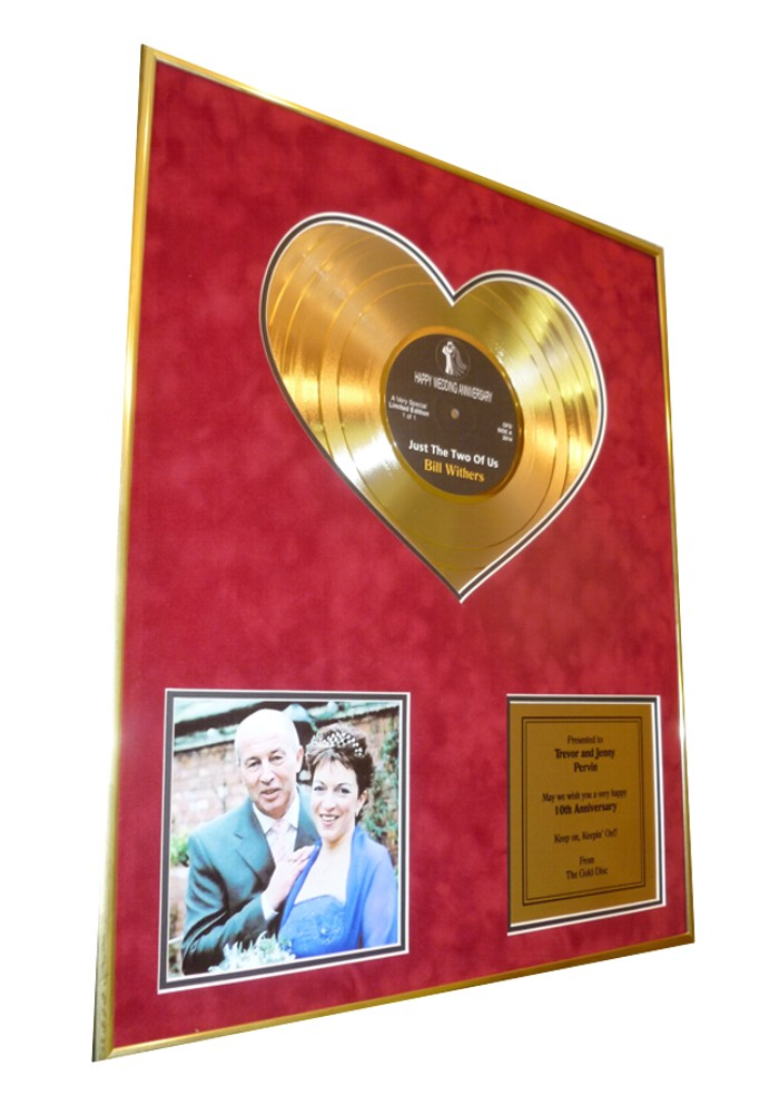 Heart of Gold Personalised Discs