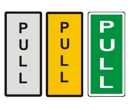 Pull Door Amp Pull Door Sign Quot Quot Sc Quot 1 Quot St Quot Quot A1 Personalised Gifts