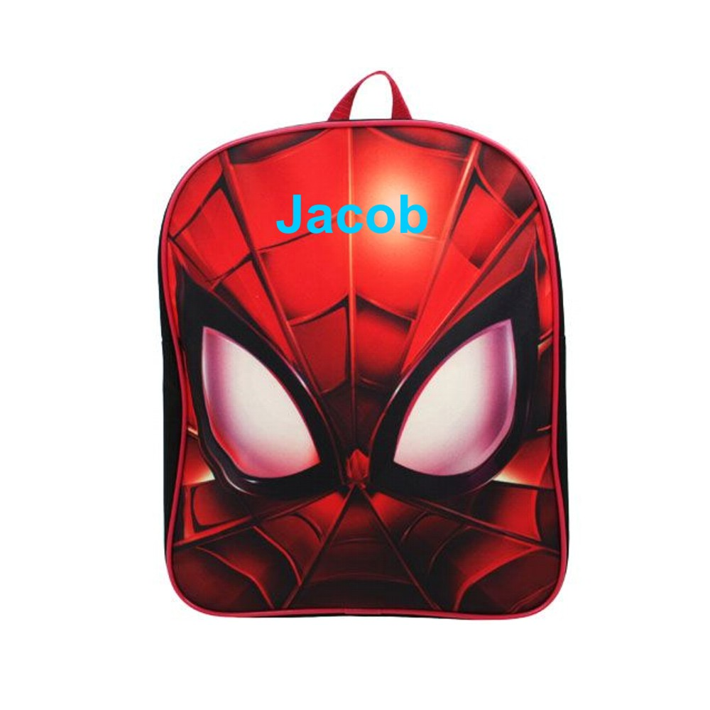 Personalised Spider-Man Backpack