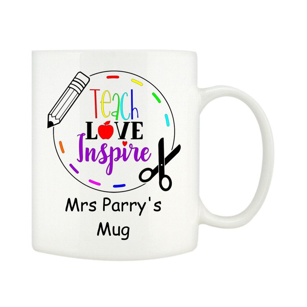 Personalised Teacher Mugs