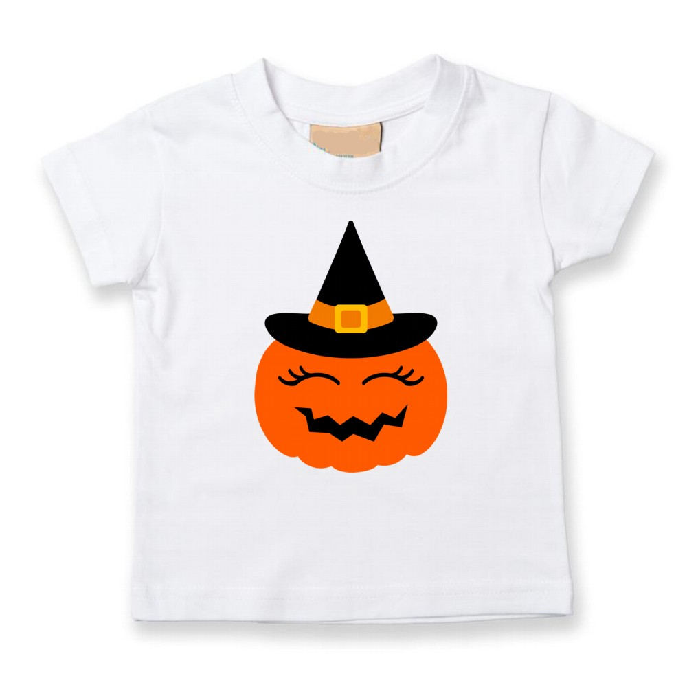 Personalised Childrens Pumpkin Halloween T-shirts