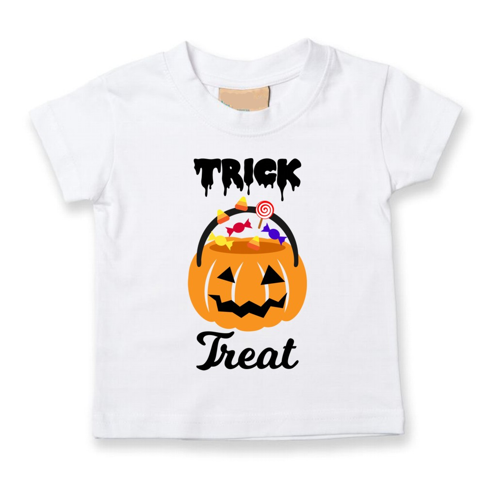 Childrens Trick or Treat Halloween T-shirts