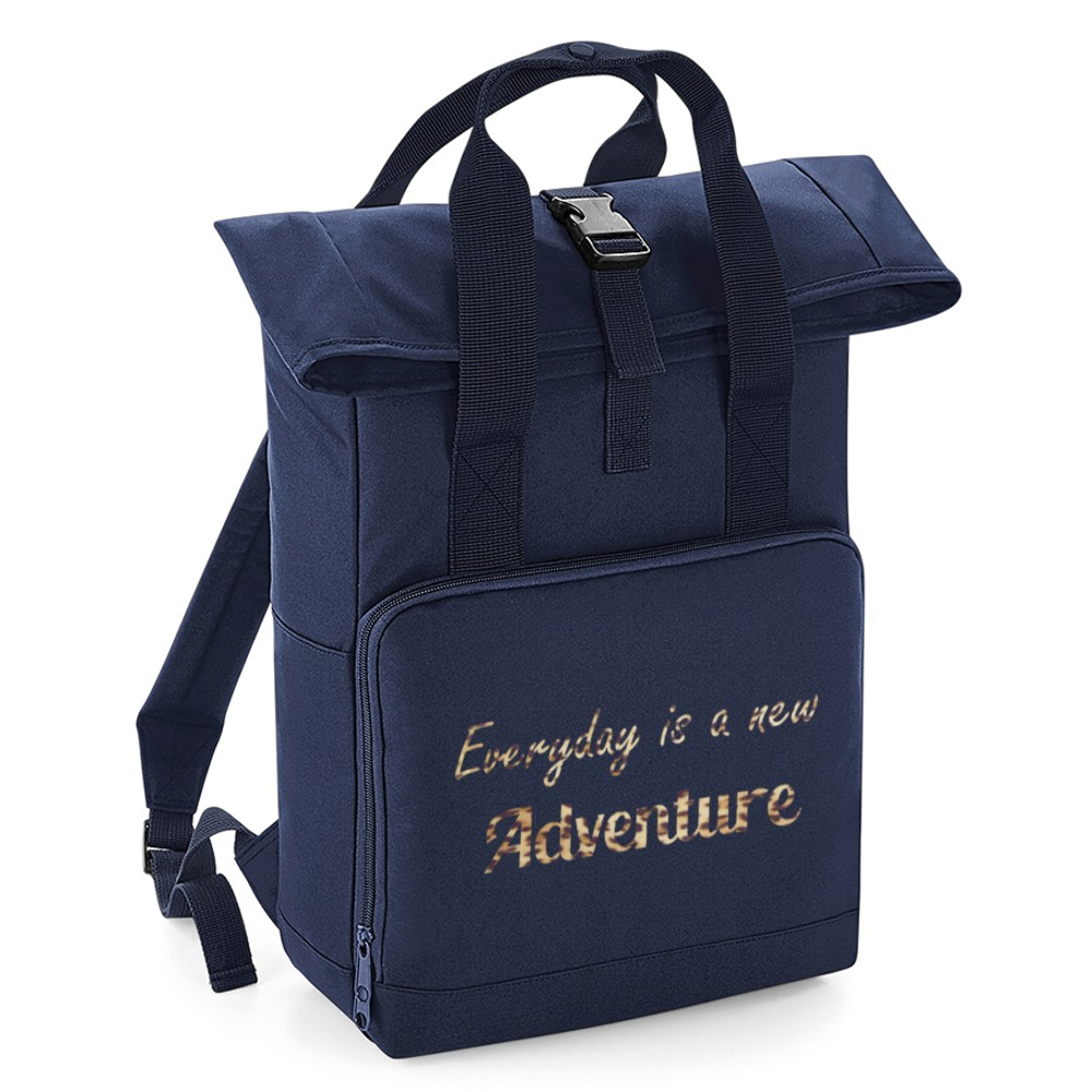 Personalised Everyday is a new Adventure Roll Top Backpack