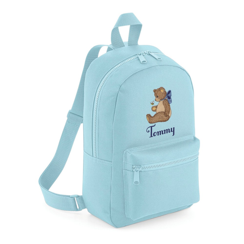Personalised Embroidered Teddy Bear Backpack