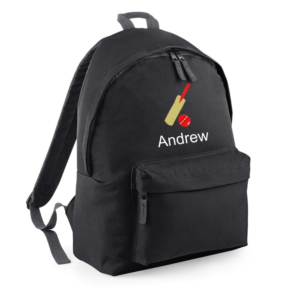 Personalised Cricket Backpack