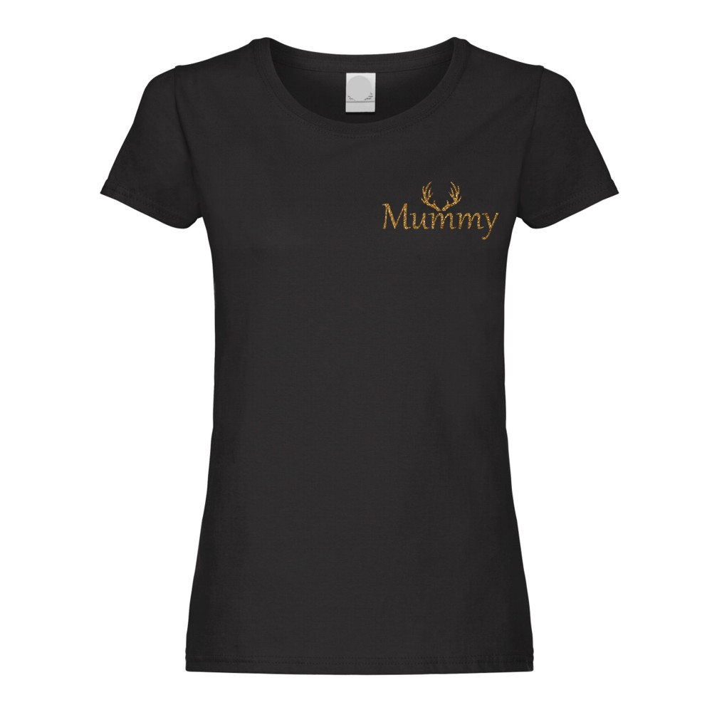 Personalised Ladies Christmas Name Tshirts