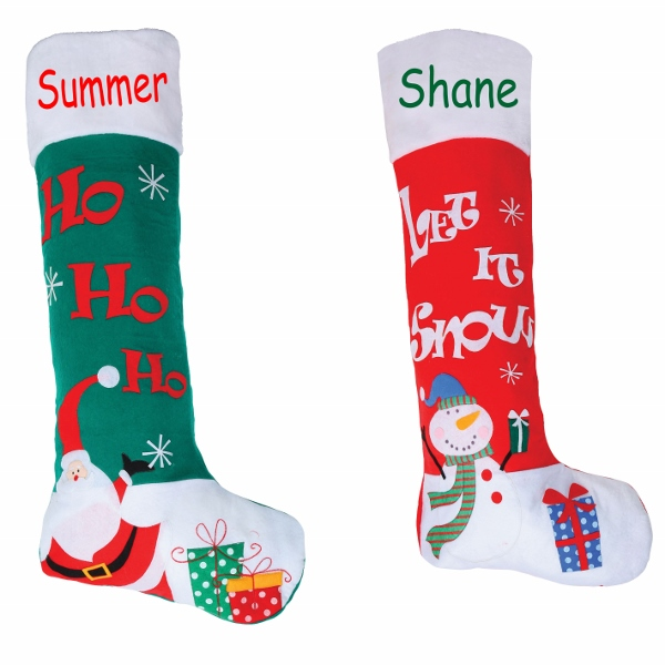 Personalised Large Christmas Stockings